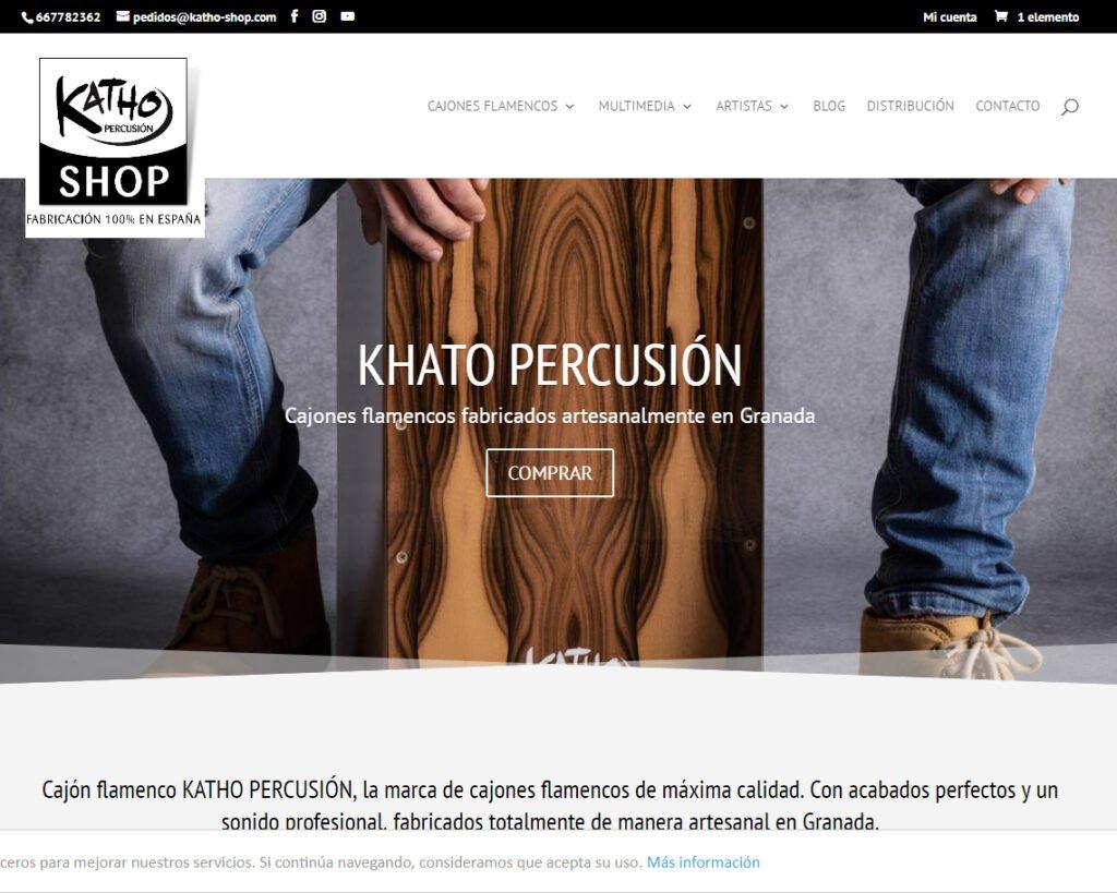 Katho Percusión fabricante de cajones flamencos de Granada