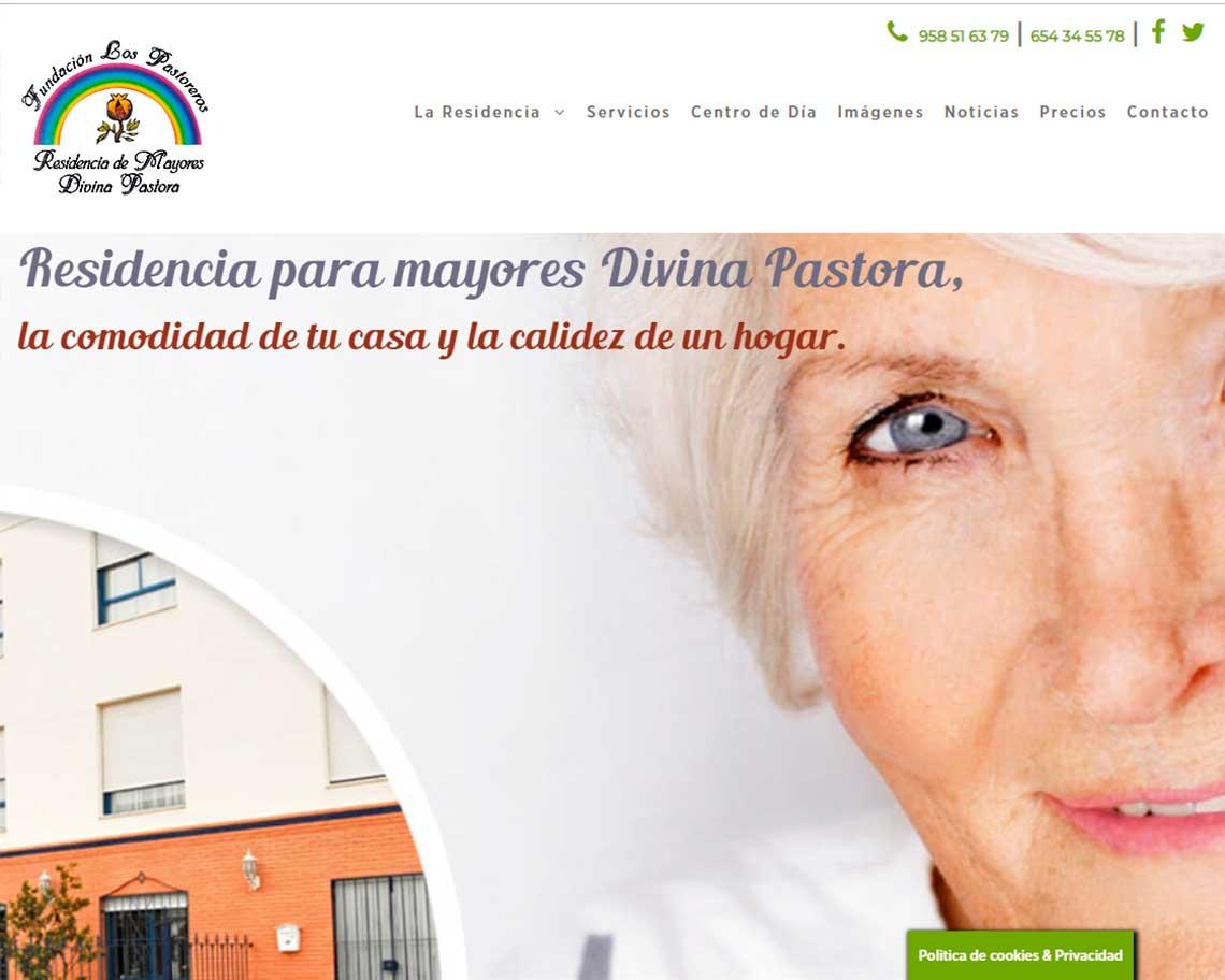 páginas web residencias fuente vaqueros granada