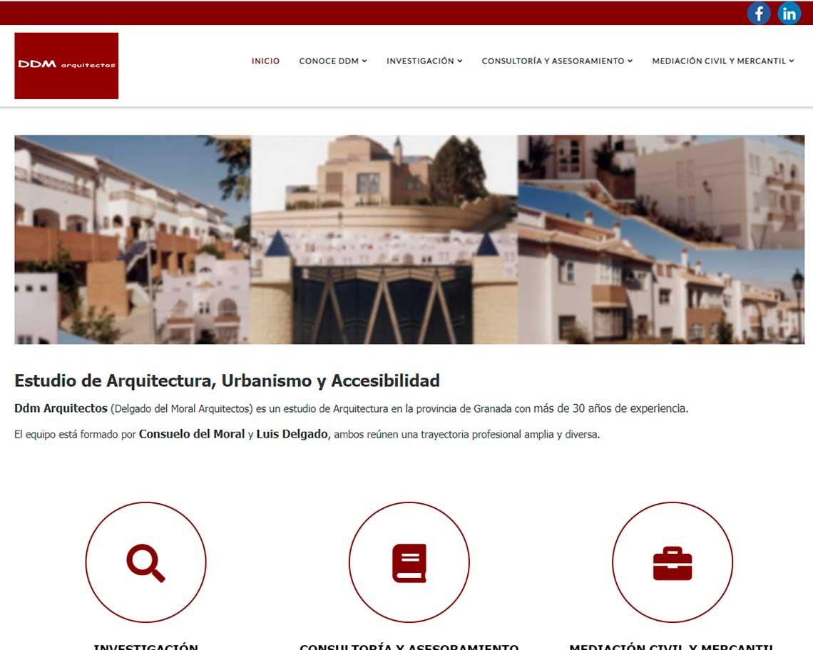 pagina web arquitectos granada