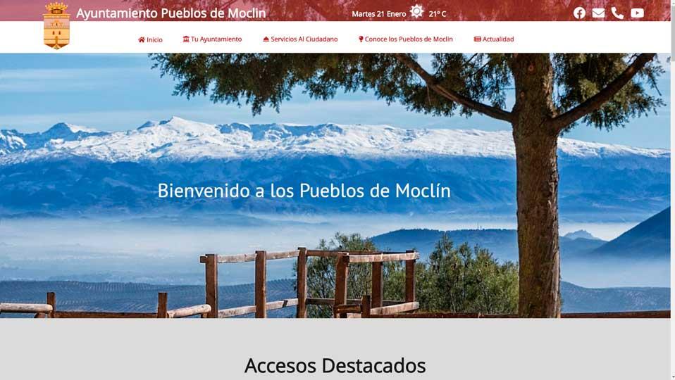 pagina-web-ayuntamiento-moclin-nueva